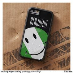 Smiling Nigerian Flag Tough Xtreme iPhone 6 Case