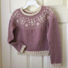 Ravelry: Project Gallery for Frozen sweater pattern by Steinunn Birna Gudjonsdottir Knitting For Kids, Baby Knitting, Knitting Projects, Fair Isle Knitting Patterns, Knit Patterns, Icelandic Sweaters, Wool Thread, Knitting Accessories, Knit Or Crochet