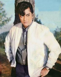 """Waheed Murad - A legend of Pakistani Cinema. He was given the title of """" The Chocolate Hero """"!"""