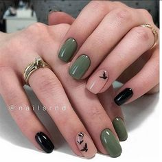 +30 Cute Almond Shaped Nails Colors You Won't Resist