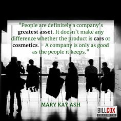 People are definitely a company's greatest asset. #Leadership