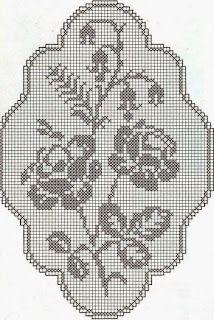 Home Decor Crochet Patterns Part 125 - Beautiful Crochet Patterns and Knitting Patterns Beau Crochet, Crochet Home, Crochet Motif, Crochet Doilies, Crochet Stitches, Doily Patterns, Knitting Patterns, Crochet Patterns, Rose Patterns