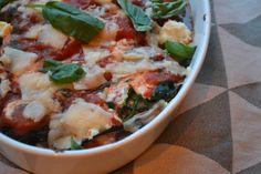 Mijn kookavonturen: Auberginelasagne met spinazie en ricotta