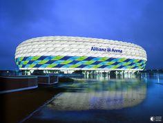 Стадион Альянц Арена, Мюнхен, Германия - Путешествуем вместе