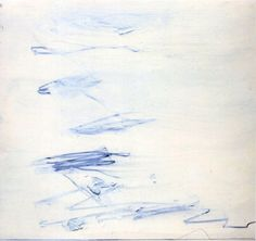 blue-voids: Cy Twombly - Poems to the Sea, 1959 Cy Twombly, Abstract Expressionism, Abstract Art, Modern Art, Contemporary Art, Robert Rauschenberg, Art Plastique, Art History, History Projects