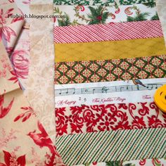 This table runner came together very, very quickly and I am pleased because it means I can make them as little gifts at Christmas without...