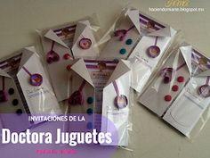 Haciendo Mi Arte: Invitaciones de Doctora Juguetes