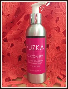 Glitz and Glamour Makeup: Get beautiful clear skin with Zuzka Cocoa Spa Cleanser #cleanser #skincare
