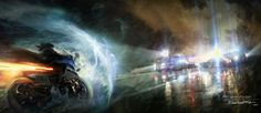 "Concept art from Quantic Dreams's ""Beyond: Two Souls"""