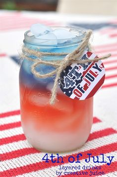 Best of the Blogs: Fourth of July Recipes | BHG Delish Dish. Triple berry sangria
