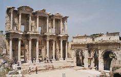 Ephesus (Turkey). ancient Anatolia. 10th century BC. Mentioned in Revelation 2:1-7. Also the site of a large Gladiator graveyard.