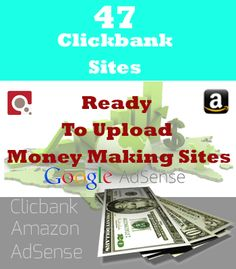 Clickbank Sites Ready To Upload Money making Sites How To Find Out, Money, Cool Stuff, Digital, Business, Products, Silver, Store, Gadget