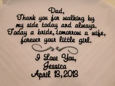 Personalized Father of the Bride from Bride by personalize4u, $22.00