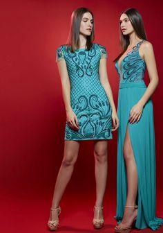 50 tons de verde: vestidos de festa do verão 2016