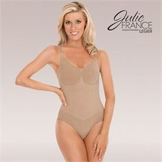 If you are looking for full body coverage with the versatility of a Cami top, Julie France has your solution! Drop up to one full dress size! Dance Belt, Julie, Cami Tops, Boy Shorts, Shapewear, Sexy Lingerie, One Piece, France, Swimwear