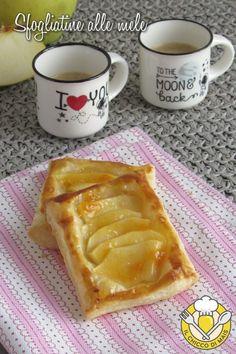 v_ sfogliatine alle mele ricetta dolce veloce con pasta sfoglia e mele il chicco di mais