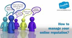 How to manage your online reputation..The first step in managing your online reputation is knowing who says what about you in real time. As a business, there are several things you should be monitoring: your company name, the CEO's name and your products' names and you should monitor them across the Internet – meaning news, blogs, social media etc. Here are a few tools to help you keep up with all mentions of your brand online: