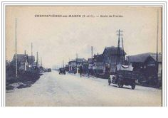 CHENNEVIERES-SUR-MARNE Route de Provins (Pompe à Essence Esso) | eBay