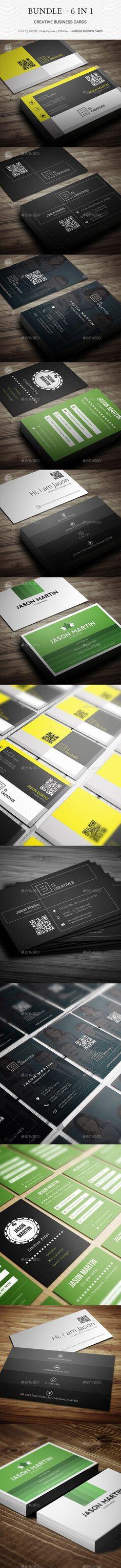 Bundle - Pro Corporate Business Cards - B42 - Corporate Business Cards