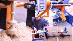 Самодельный токарный станок по дереву своими руками.Часть2.Homemade Wood...