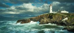 Fanad Head Lighthouse, one of Irelands Great Lighthouses, on the Fanad Peninsula, is truly breathtaking. Offering a great location for weekend breaks.