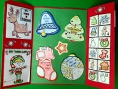 Christmas Holiday Lapbook by FlapJack Educational Resources