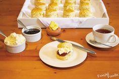 ginger scones #ginger #scones #food