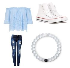 """Untitled #793"" by jamiesowers14 on Polyvore featuring Converse and Lokai"