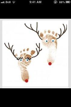 Reindeer Craft For Kids Wait til peanut butter cups visit :)