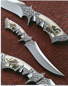Ron Best Knives, Custom Created Knives
