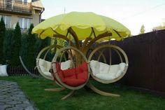 Poltrone ombrellone giardino
