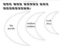 Trace Shapes- Multiple worksheets for preschools, including the crescent.