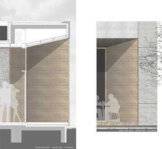 1. Preis: Fassade in Schnitt und Ansicht