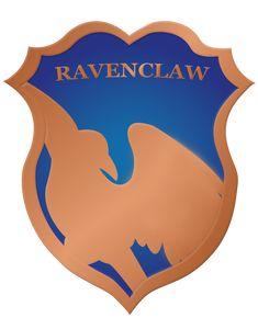 Ravenclaw Crest Badge by rainbowrenly.deviantart.com on @DeviantArt