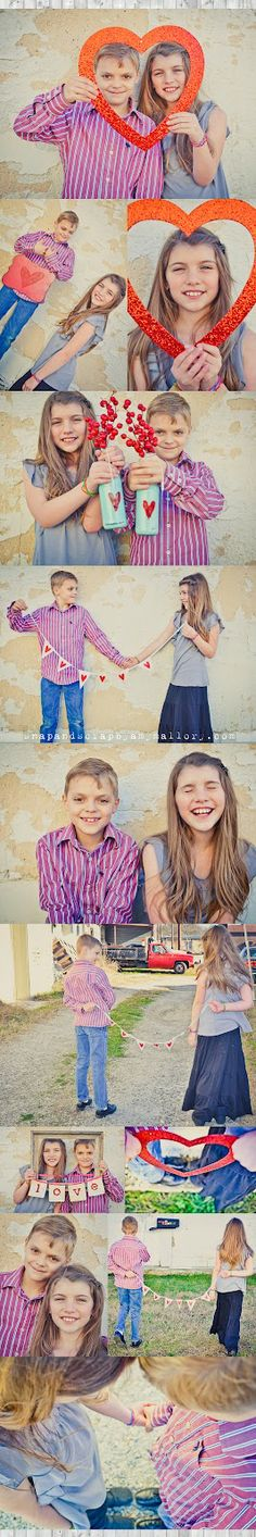 Valentine Photo Shoot - Young Love