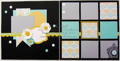Eastern Elegance 12x12 Scrapbooking Pages by Kay Kalthoff from Stamping to Share