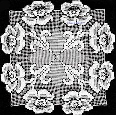 Mobile LiveInternet Crochet - sirloin-equipment for napkins, collars and barnacles Lace Doilies, Crochet Doilies, Yarn Crafts, Diy And Crafts, Embroidery Patterns, Crochet Patterns, Crochet Placemats, Crochet Circles, Crochet Purses