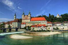 Steyr, Upper Austria, my hometown Steyr, Travel Around The World, Around The Worlds, Places Ive Been, Places To Go, Beautiful Homes, Beautiful Places, Visit Austria, Central Europe