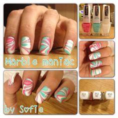 Marble nails | IsaDora Global |