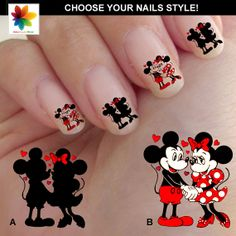 482 best Disney Nails images on Pinterest | Disney nails, Fingernail ...