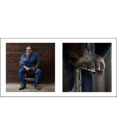 Farriers 7 - Livin'Art by Nicola Ughi   Diptych cm 40x40 Finished paintings cm 50x100     Maniscalchi (Farriers)  is a unique photography project that stems from the desire to give voice and visibility to a trade that is – as we sometimes say – an art. Nicola Ughi unites a strong documentary motivation with a spontaneous aesthetic research. #maniscalchi #farriers