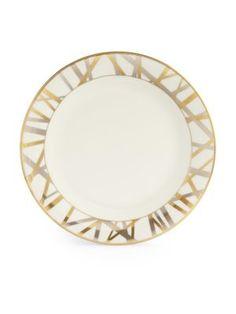 "Kelly Wearstler Mulholland Salad Plate, 8-3/8"". $82.00 ea at Saksfifthavenue.com, 5/14/16"