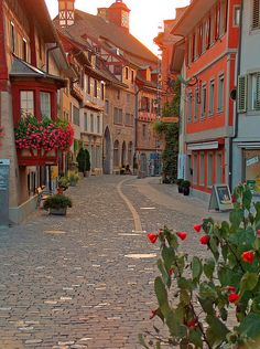 Stein am Rhein, Switzerland.