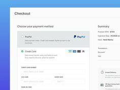 Checkout UI by Sobhan Rabbani - Dribbble