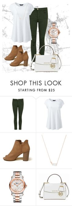 """""""My Style #2"""" by ehiga ❤ liked on Polyvore featuring J Brand, Lands' End, Hollister Co., Kendra Scott, Chopard and Michael Kors"""