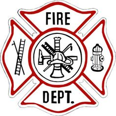 fire dept blank logo clipart best firefighter pinterest