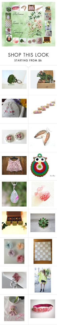 """Autumn Time is Coming: Birthday Gift Ideas"" by paulinemcewen ❤ liked on Polyvore featuring rustic and vintage"