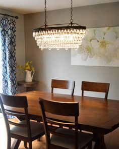 Allen and Roth Chandelier - Pottery Barn Look Alike for $600 Less!