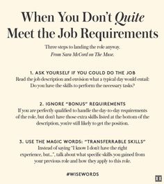 Good resume templates The post How to Land the Job When You're This-Close To Qualified appeared first on Ivanka Trump. Job Interview Preparation, Interview Skills, Job Interview Questions, Job Interview Tips, Job Interviews, Interview Techniques, Interview Clothes, Interview Outfits, Personal Development