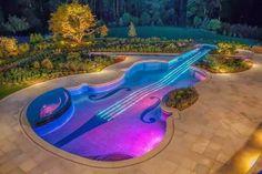 Una piscina de lo más original!!!!